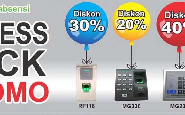 Akses Kontrol Lagi Discount Up To 40% Hanya Di Mesinabsensi.co.id